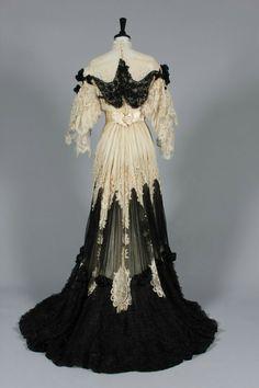 Elegant Edwardian 1920's Dress
