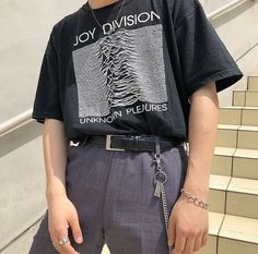 Image in men's fashion ∆∇ collection by maddy. Indie Fashion, Aesthetic Fashion, Aesthetic Clothes, Boy Fashion, Korean Fashion, Fashion Outfits, Mens Fashion, Cheap Fashion, Fashion Clothes