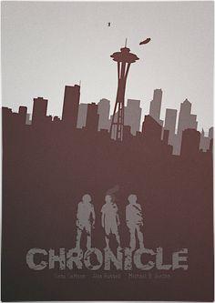 Chronicle (2012) ~ Minimal Movie poster by Mads Svanegaard #amusementphile