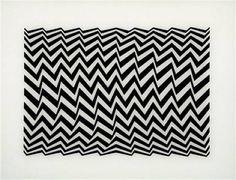 "Bridget Riley ""Fragment 3"" 1965 #optart #arthistory"