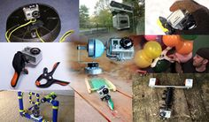 People Drone Photography : People Drone Photography : Here are 11 DIY solutions to sticking a GoPro practic Gopro Diy, Gopro Drone, Gopro Camera, Drones, Gopro Photography, Photography Website, Aerial Photography, Travel Photography, Gopro Video