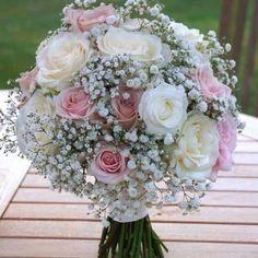 Summer Wedding Bouquets, Bride Bouquets, Flower Bouquet Wedding, Wedding Colors, Flowers Roses Bouquet, Bridal Flowers, Rose Bouquet, Perfect Wedding, Dream Wedding