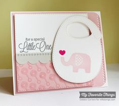 Special Little One card by Debbie Carriere