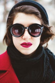 Black sunglasses   FASHION IS MY RELIGION   photo Alex C.D. photography   #black #sunglasses #forever21