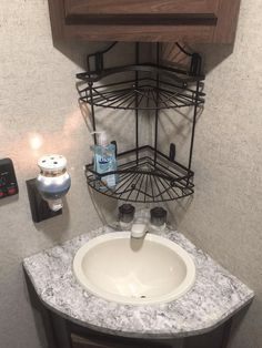RV Bathroom Storage & Organization Ideas | RV Inspiration