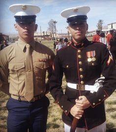 Once A Marine, Marine Mom, Us Marine Corps, Usmc Dress Blues, The Few The Proud, American Pride, American History, Us Marines, Men In Uniform
