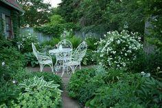 White for moon garden