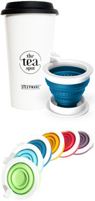 Travel Tea Mug - Travel Tea Mug with Infuser - Tea Traveler   TEA SPOT