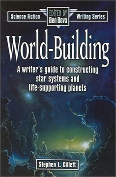 World-Building (Science Fiction Writing) by Stephen L. Gillett - for would-be sci-fi authors! Science Fiction, Fiction Writing, Writing Advice, Writing Resources, Writing Skills, Writing A Book, Writing Prompts, Writing Help, Dissertation Writing