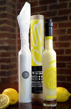 Crema di Limoncello Self-Promotional Gift - Daily Package Design Inspiration