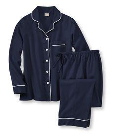 Pima Flannel Pajama Set