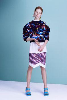 Jil Sander Navy Collection Spring 2016 Ready-to-Wear Fashion Show. Printemps 2016 prêt-à-porter #mode #fashion