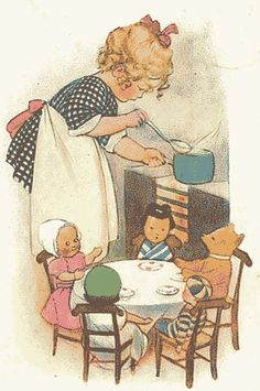 "Susan Beatrice Pearse.  ""Cooking for the family."""