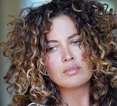 balayage on curly hair - Google Search