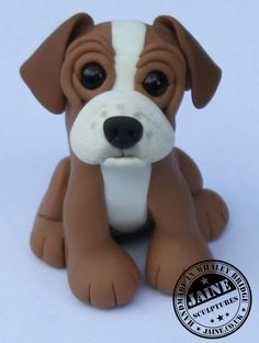"""Handmade in polymer clay and approximately 5"""" tall For more details visit www.jaine.co.uk or Jaine's Peeps on Facebook"""