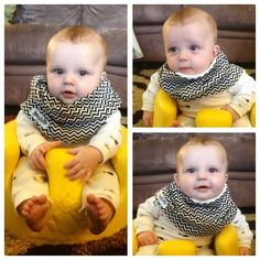 Scabib - All-In-One Scarf + Bib Baby Wear - From Rose Dixon