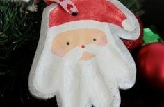 Adorno de Santa con la mano de tu bebé | Blog de BabyCenter