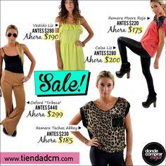 ¡Aprovechá los productos en #SALE de Tienda DCM! ➜ www.tiendadcm.com/products/list/brand/20939