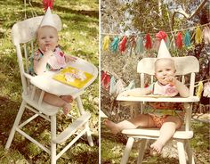 Love this little girls first birthday! idea for Em's first.