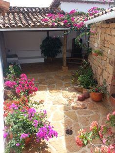 Casa Floreana Barichara Porches, Visit Colombia, Small Art, Colonial, Exterior, Patio, Balcony, Garden, Outdoor Decor