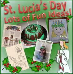 St Lucia's Feast Day Fun! {Easy Ideas} | Catholic Inspired ~ Arts, Crafts, and Activities!