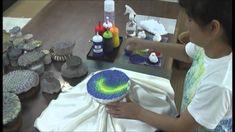紅型. Okinawan traditional resist dyed cloth - Bingata.