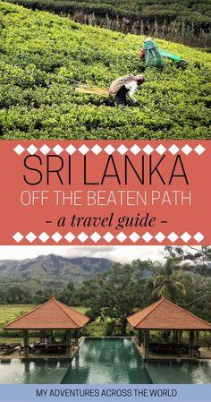 Sri Lanka has become increasingly popular recently, but you can still go off the beaten path quite easily. Click for a guide to Sri Lanka off the beaten path best destinations. | Sri Lanka things to do | Sri Lanka travel tips | Sri lanka travel guide #srilanka #srilankatrip - via @clautavani