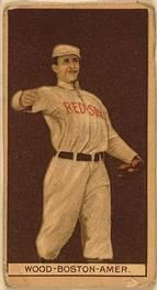 1912 Brown Backgrounds T207 #202 Joe Wood Front