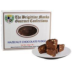 Hazelnut Chocolate Fudge: Brigittine Monks 1lb - http://bestchocolateshop.com/hazelnut-chocolate-fudge-brigittine-monks-1lb/