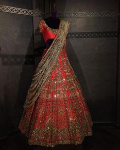 the new bridal collection now on display at SHYAMAL & BHUMIKA MUMBAI, next to Crosswords, under the Kemps Corner flyover , Near Peddar Road, call 9833525200 for directions Indian Bridal Outfits, Indian Bridal Lehenga, Indian Bridal Fashion, Indian Designer Outfits, Bridal Dresses, Half Saree Lehenga, Lehnga Dress, Sari, Half Saree Designs