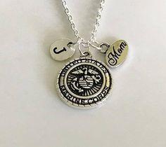Marine Corps necklace, USA Marines Corps Mom, Military necklace, Soldier necklace, Marine Corps necklace, Navy Mom Navy Wife jewelry
