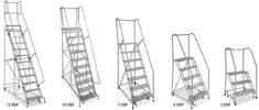 Uline stocks a huge selection of rolling ladders and steel rolling ladders. Over products in stock. 11 Locations across USA, Canada and Mexico for fast delivery of Rolling Ladders. Rolling Ladder, Retail Supplies, Rolls, Steel, Ladders, Loft Ideas, Christmas Carol, Stairs, Attic Ideas