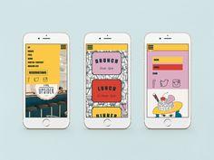 the upsider nyc website design