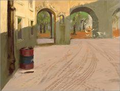 Digital sobre óleo Painting, Interior, Travel, Artists, Art, Indoor, Paintings, Design Interiors, Draw