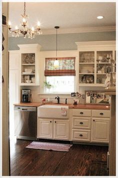 Kitchen Remodel Living Rooms and Kitchen Remodel Diy Fixer Upper. Old Kitchen, Kitchen Paint, Country Kitchen, Kitchen Decor, Kitchen Ideas, Country Living, Kitchen Tips, Kitchen Storage, 1970s Kitchen