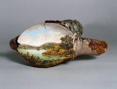alison moritsugu | Alison Moritsugu Creates Beautiful Fallen Log Paintings That Show How ...