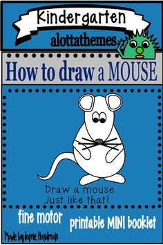 This fun and engaging drawing activity is great for using when teaching the farm unit in the fall or spring for your preschoolers,kindergarten Farm Activities, Drawing Activities, Autumn Activities, Early Childhood Activities, Farm Unit, Directed Drawing, Farm Theme, Kindergarten Classroom, Fine Motor Skills
