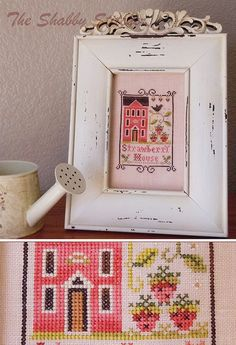 Love!   (....cr....I have this one...cute....Little House Needleworks, I believe)