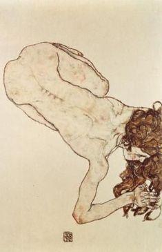 Figure Painting, Figure Drawing, Painting & Drawing, Egon Schiele Zeichnungen, Egon Schiele Drawings, Arte Punk, Ligne Claire, A Level Art, Alphonse Mucha