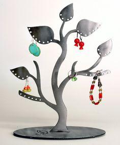 Pretty Tree Earring & Jewelry Organizer. $44.00, via Etsy.