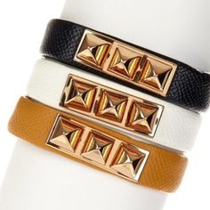 T&J camel color faux leather stud bracelet I just have the camel colored bracelet. Brand New Retail item from T&J designs, this is a beautiful  it has two snap closures to adjust the size. Looks like real leather. Gold tone hardware. T&J Designs Jewelry Bracelets