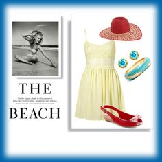 At the Beach, created by ritaannesmith.polyvore.com