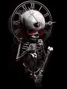 Baby fetus skeletal constructing time by Javier Antunez
