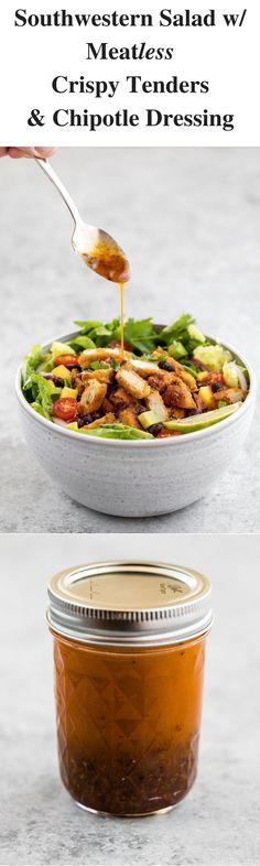Vegan salad, plant-b