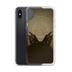 Vikings Odins Ravens Huginn and Muninn iPhone Case