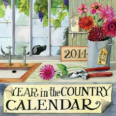 Matthew Rice Year in the Country2014 Calendar