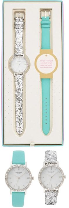 Love this kate spade glitter watch