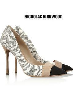 NOCHOLAS KIRKWOOD Zapatos de salón bipunta Colección Otoño/ Invierno 2013