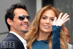 They're on, they're off, they're taking a break... Anything is possible in the volatile world of celebrity love. Here, a constantly updated look at the year so far in the stars' breakups, engagements, and weddings. Pictured: Jennifer Lopez and Marc Anthony, who shocked fans with news of their split on July 15.
