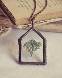 my home is the forest necklace by bellehibou on Etsy